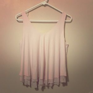 💖Express flowy top SIZE SMALL-light pink